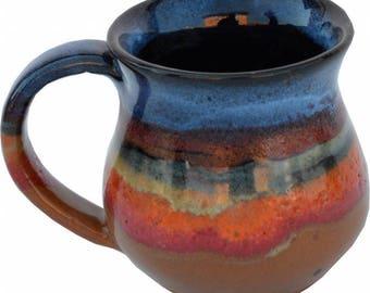 10 Oz. Mug in Azulscape Glaze