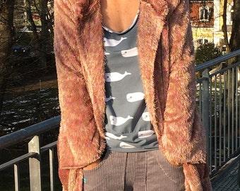 Fröken Frida hooded coat