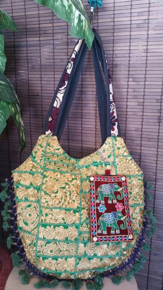 Patch work bag, Handmade hand bags, Party Purse, Short Handle Bag, Boho Purse, Embroidered Purse, Hippie Bags, Shoulder Bag, christmas gift