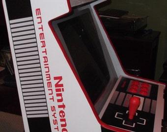 Bartop Arcade handmade NES SNES nintendo entertainment system Multi System