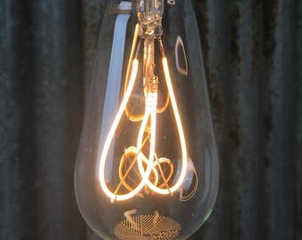 Plumen Whirly Willis : Dimmable LED Filament Light Bulb E27 4W