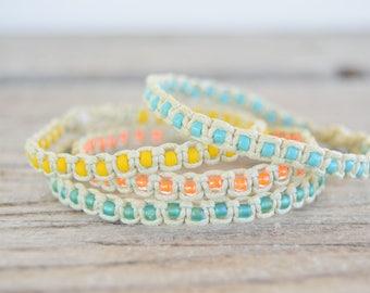 Braided anklet boho anklet hippie anklet hemp anklet rope anklet surfer anklet rope bracelet braided bracelet hippie bracelet
