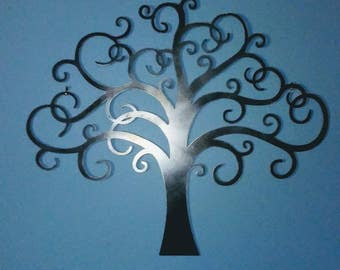 Tree of Life Metal Wall Art - Metal Wall Art