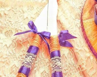 Wedding Cake, Wedding Cake Cutting Set, Wedding Cake Server, Wedding Serving Set, Rustic Wedding Cake Server Set, Farmhouse Wedding