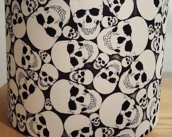 Glow In The Dark Handmade Skull Lampshade Gothic Style