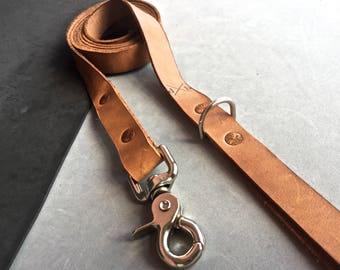 The Tan Leather Leash