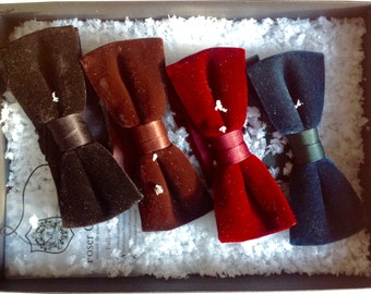 Velvet Bow Ties by Poser Club