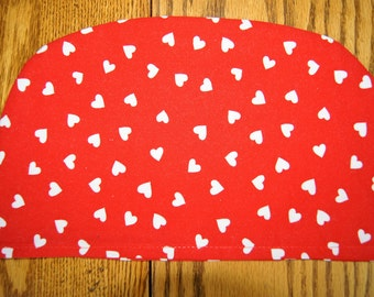 Small Tea Cozy Cover: Hearts 1 (to be used with my SMALL Tea Cozy