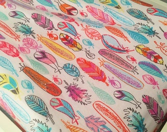 Feathers Changing Pad Cover | Colorful Feathers Changing Table Pad | Tribal  Feathers Changing Pad Cover