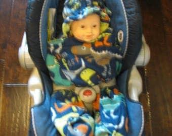 Dinasors Baby Snuggle Wrap