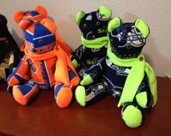 Teddy Bears Seahawks