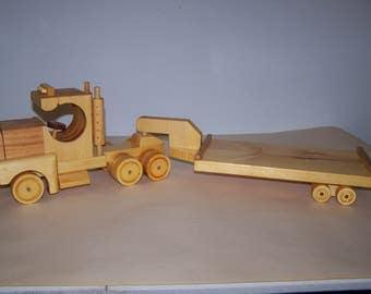 Tractor Trailer Low Boy