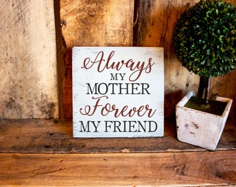 Mother's Day Gift | Gift Idea for Mom | Sign For Mom | Mom Plaque | Mother's Day Gift Ideas | Christmas Gift for Mom | Birthday Gift for Mom