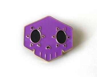 Sombra Brass Enamel Pin