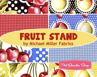 Fruit Stand - FQ Bundle (8) - Michael Miller Fabrics