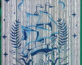 Fantasia Bamboo Beaded Curtain