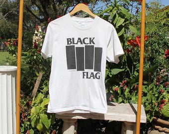 2001 Black Flag classic bars shirt