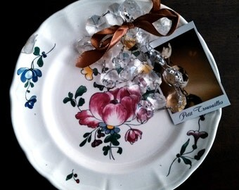 Ceramic plate Laveno Verbanum Stone 1930