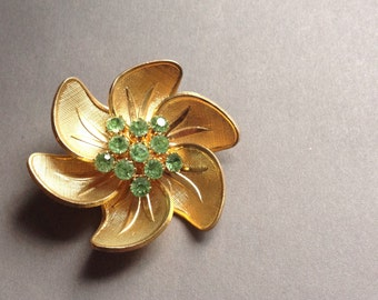 Old czecho slovakia vintage brooch pin