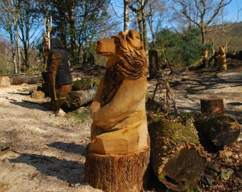 Chainsaw Carving Big Bear