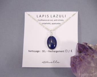 Star Lapis Lazuli necklace
