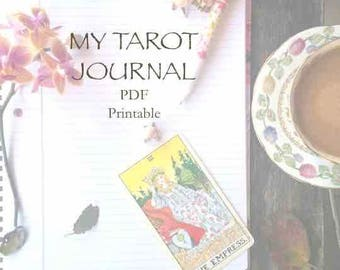 Enhance your intuition through a journey of self-discovery with your personal tarot journal. A guide to writing and connecting to your deck!