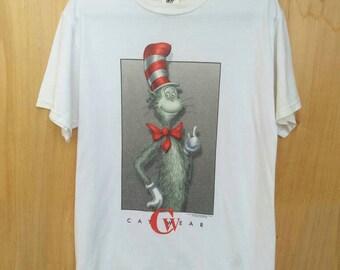 Vintage The Cat In The Hat Dr Seuss T-shirt Sz M Rare
