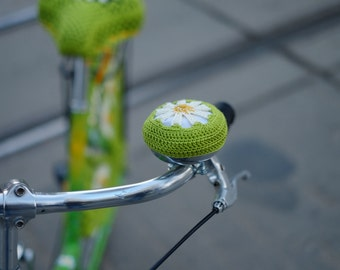 Bicycle bell cover - Daisy