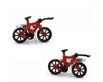 Speed Bike Cufflink-B123