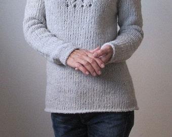 Sweater/knit sweater, Raglan sleeve