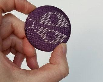Wrap Scrap Magnet - Large Magnet - Wrap Scrap - Babywearing - Magnet - Oscha - Ladybirds Juliet - Ladybug