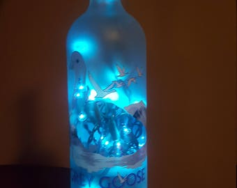 Grey Goose Lighted Bottle
