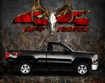 Truck Bed Decal Etsy - Truck bed decals custom