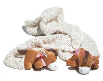 Shawl, hand knitted warm and fluffy shawl