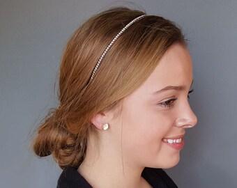 Beaded Headband, Headband, Hair Accessories, Party Headband Active, Gift for Women