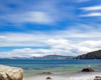 Beach Photography, Beach Photo, Beach Print, Coastal Art, Ocean Photography, Landscape Photography, Landscape Print, Sky Photography