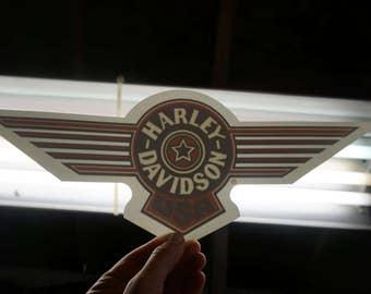 Harley Davidson USA Window Decal