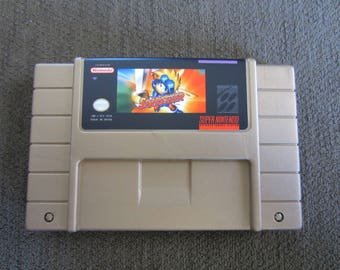 Sparkster  - Super Nintendo - Gold Cartridge