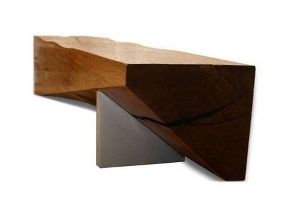 Floating shelf mantel beam