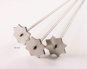 """Mandrel by Cabochon """"Eight-pointed star"""" (d 28mm)"""