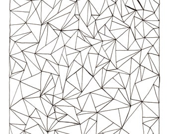 Triangle Mono #1 Original Art
