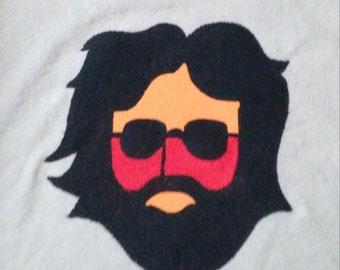 JGB Jerry Garcia pillow