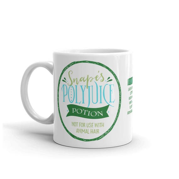 Mug, Snape's Polyjuice Potion, Not for use with Animal Hair, Harry Potter Fan Coffee Mug
