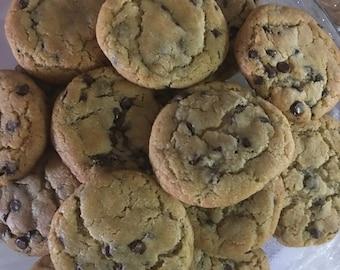 Grandma old school chocolate chip cookies