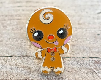 Holiday Gingerbread Man Pin