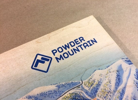 Powder Mountain Ski Resort Maple Wood Trail Map