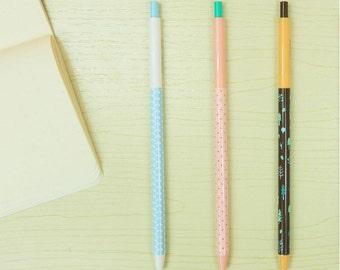 0.5mm cute stuffs/ Cute Retractable Blue Gel Ink Pens, Kawaii, Blue Gel Pen,Kawaii Stationery, Korean Stationery, Gel Pen Set