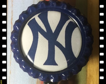 New York Yankees Retractable Badge Pull