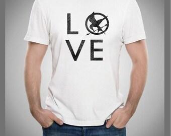 Hunger Games LOVE T Shirt