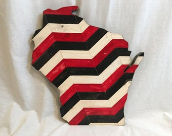 Wisconsin Cut Out - Wood Art - Made to Order